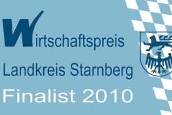 Wirtschaftspreis Landkreis Starnberg Finalist 2010