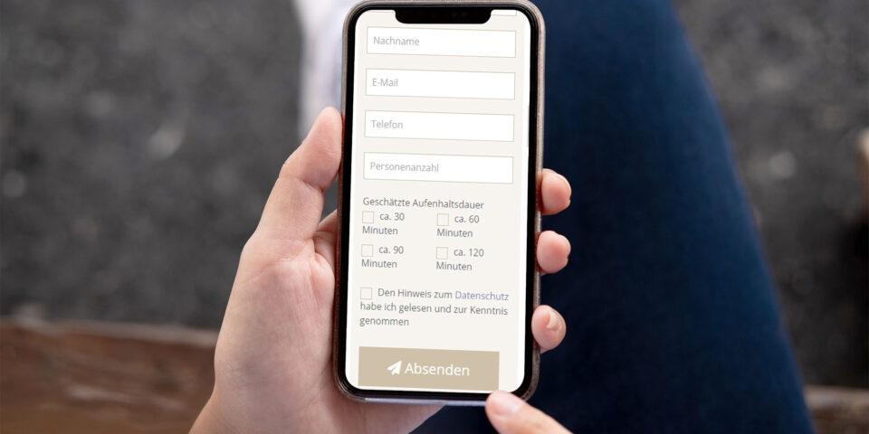 Digitale Registrierung